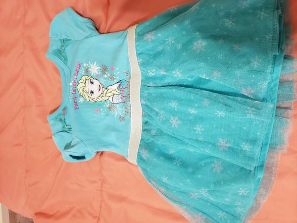 Frozen elsa birthday dress shirt