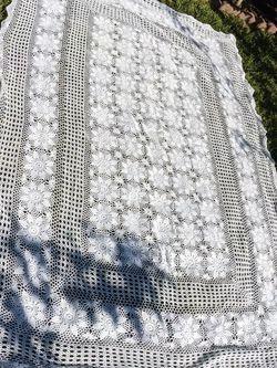 Crochet Handmade Tablecloth for Sale in Norwalk,  CA
