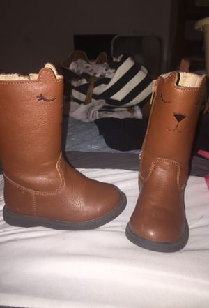 Riding boots for toddler girl size 5 for Sale in Council Bluffs, IA