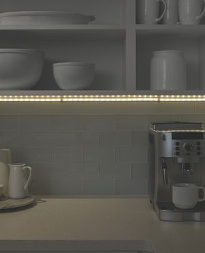 LED Tape Lights Soft White Set of 4 Inline Dimmer Kitchen Bedroom Cabinets Closet for Sale in Laguna Beach, CA