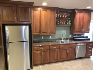 Solid Wood Kitchen (Top)Cabinets For Sale! for Sale in Cleveland, OH