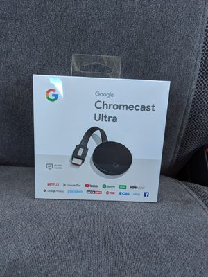Google Chromecast Ultra for Sale in Alvin, TX