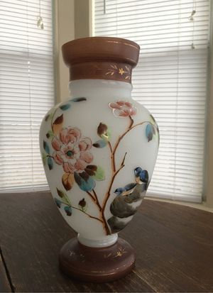 Large hand painted vase for Sale in Tyler, TX