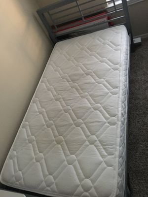 Twin bed frame and mattress for Sale in Memphis, TN