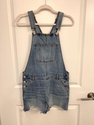 American Eagle overall denim dress size Medium for Sale in Miami, FL