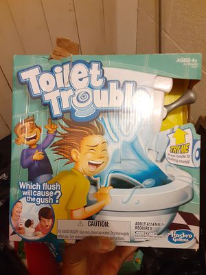 Toilet trouble game for Sale in Shaker Heights, OH