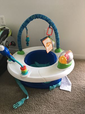 Baby Einstein's 3-1 Discovery Seat/ Fisher-Price 4-1 Rock'n Glide Soother, Infant Car Seat W/ Base for Sale in Orlando, FL