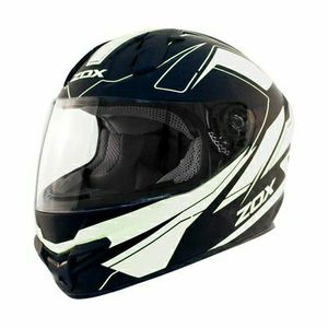 Motorcycle Helmet DOT Snell Zox Primo C Matte White Black Large (New) for Sale in San Bernardino, CA