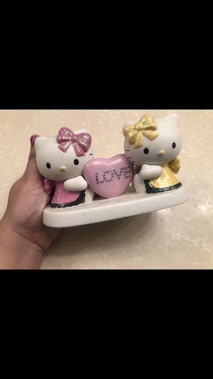 Hello kitty precious moments figurine for Sale in Manteca, CA