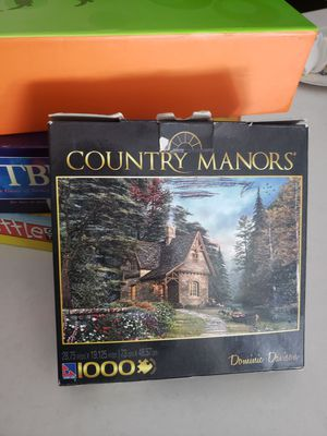 Free puzzle when you buy annother board game! for Sale in San Diego, CA