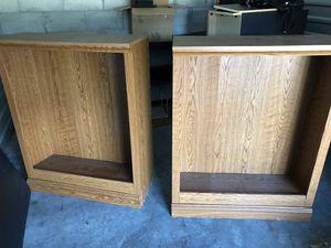 Two bookshelves / shelves for Sale in Riverview, FL