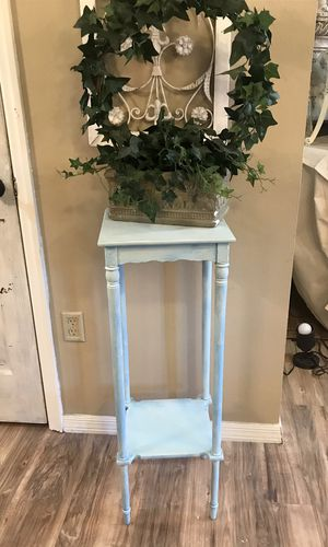 """Plant Stand - Table with shelf - 12""""Lx12""""Wx36"""" T ~$12 for Sale in Merritt Island, FL"""