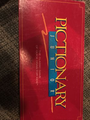 Pictionary Junior Board Game for Sale in Seattle, WA