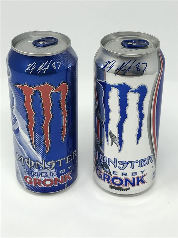 Limited Special Edition Monster Energy Drink Rob Gronkowski Gronk