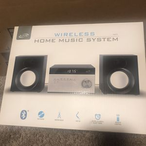 New in box!! Wireless Home Music System for Sale in Washington, DC