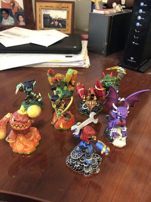8 Skylander Figures for Sale in Puyallup, WA
