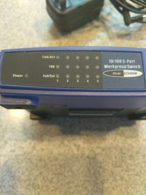 Five port Linksys switch for Sale in Auburn, WA