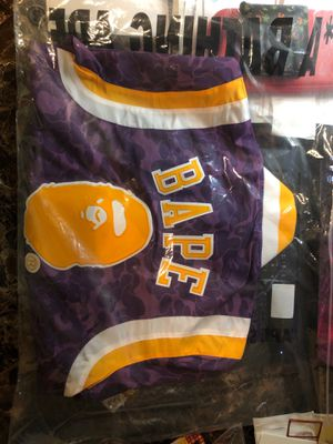 Bape laker jacket for Sale in Placentia, CA