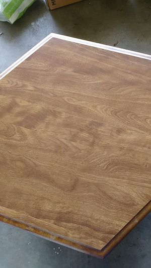 Wood table with storage for Sale in Glendora, CA