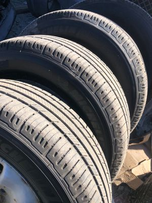 Michelin set of tires 215/70/16 for Sale in San Diego, CA