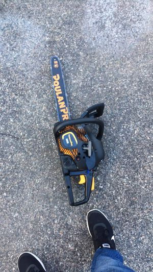 Poulan pro 18' chainsaw for Sale in Cumberland, RI