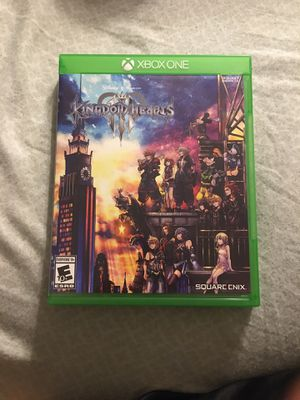 Kingdom Hearts lll Video Game For Xbox One S for Sale in DeSoto, TX