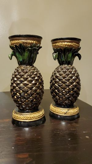 Pineapple Candle Holders for Sale in Joliet, IL