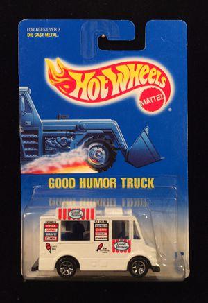 Hot Wheels Good Humor Truck Blue Card #5 7 Spoke Wheels • White for Sale in Keller, TX