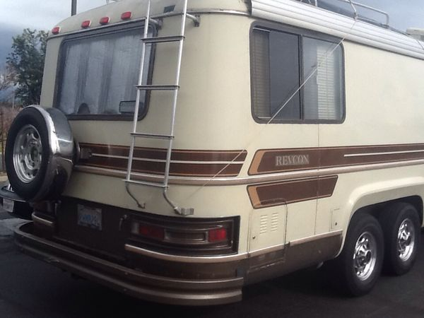 Vintage Classic 1980 Revcon Camelot Class A Motorhome for ...