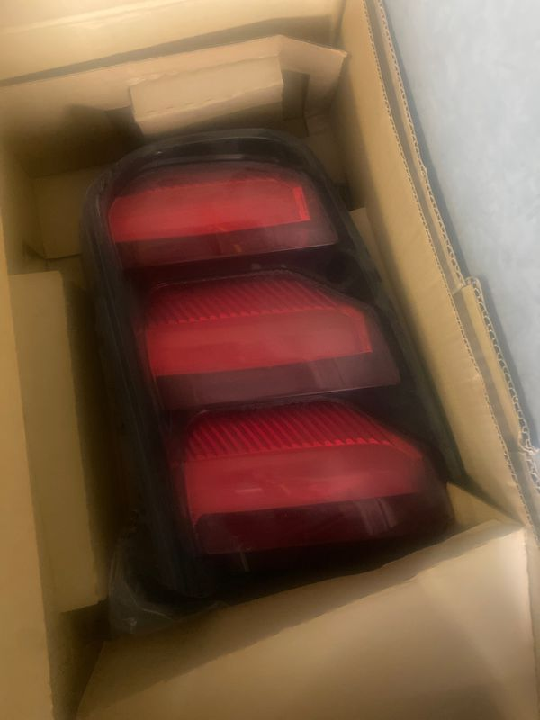 New mustang taillight