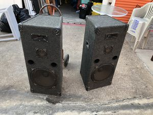 Large welton pro audio loud speakers for Sale in Fort Worth, TX