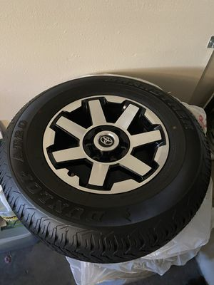2020 4 runner rims and tires for Sale in Riverside, CA