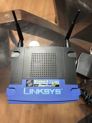 Linksys router and Motorola modem for Sale in San Diego, CA