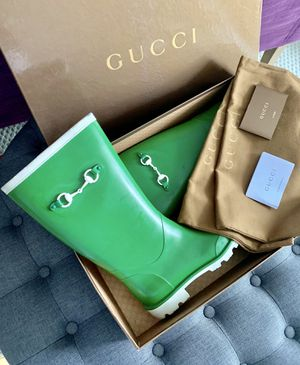 ❤️Gucci❤️Rain/Snow boots❤️Used a few times only❤️Green❤️ for Sale in Miami, FL