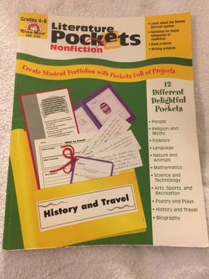Literature Pockets Grades 4-6 History and Travel Subjects Book New for Sale in Honolulu, HI