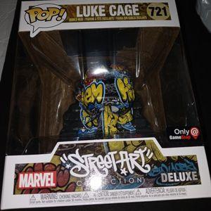 GameStop Exclusive #721 LUKE CAGE GRAFFITI FUNKO POP DELUXE 1/1 for Sale in Doral, FL