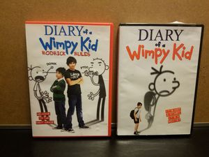 Diary of a wimpy kid dvds for Sale in WA, US