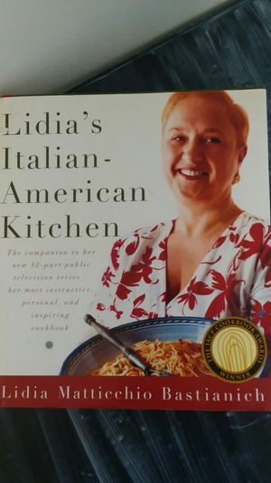 Cookbook Lidias Italian American Kitchen for Sale in Mount Laurel Township, NJ