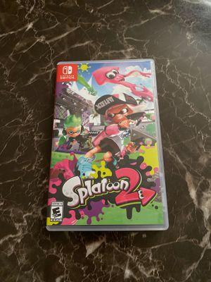 Splatoon 2 Nintendo switch for Sale in Layton, UT