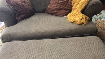 Loveseat And Storage Ottoman To Match for Sale in Boxford,  MA