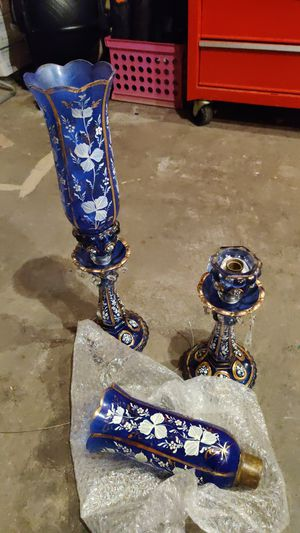 Decorative 2 piece candle holder for Sale in Columbus, OH
