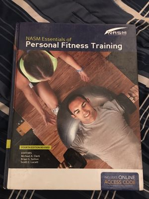 nasm personal training book for Sale in Manassas, VA