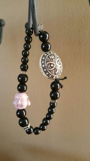 Fat Buddha Head Unisex Bracelet w/accent beads for Sale in Springfield, VA