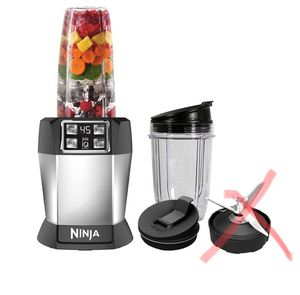 Nutri Ninja one touch smoothie blender set with auto IQ - needs blade for Sale in Henderson, NV