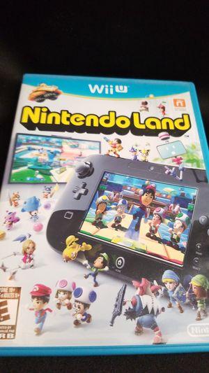 WII U Nintendo land game for Sale in Hesperia, CA