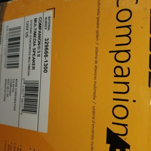 BOSE Mutimedia Companion 3 for Sale in Washington, DC