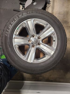 """Stock Ram 20"""" Rims w/Good Cooper Tires for Sale in Vancouver, WA"""