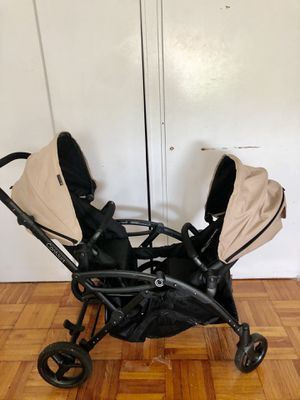 Contours twin stroller for sale it retails for $399. Selling for $125 never used the original seat only used with car seats when my twins were still for Sale in Newark, NJ