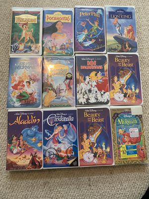 Disney VHS Movies Never watched for Sale in Clearwater, FL