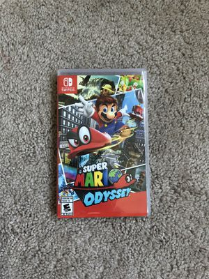 Nintendo switch - super Mario odyssey game for Sale in Frederick, MD